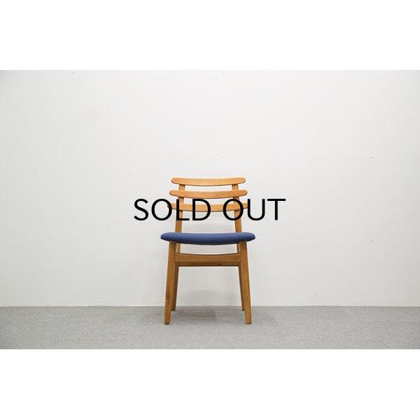 画像1: Poul.M.Volther J48 Dining Chair Beech