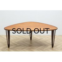 B.C.Mobler Triangle Coffee Table