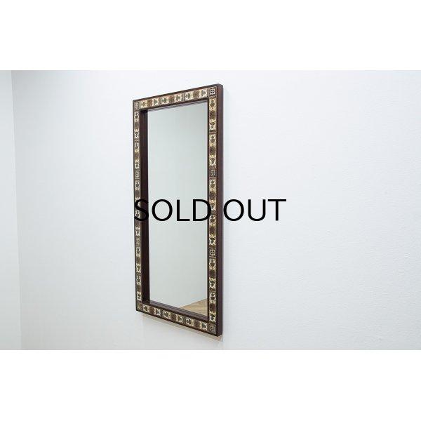 画像1: Haslev & Royal Copenhagen Tile Mirror