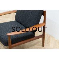 Grete Jalk Easy Chair Model 118 Gray
