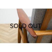 Hans.J.Wegner GE240 Easy Chair Teak,Oak