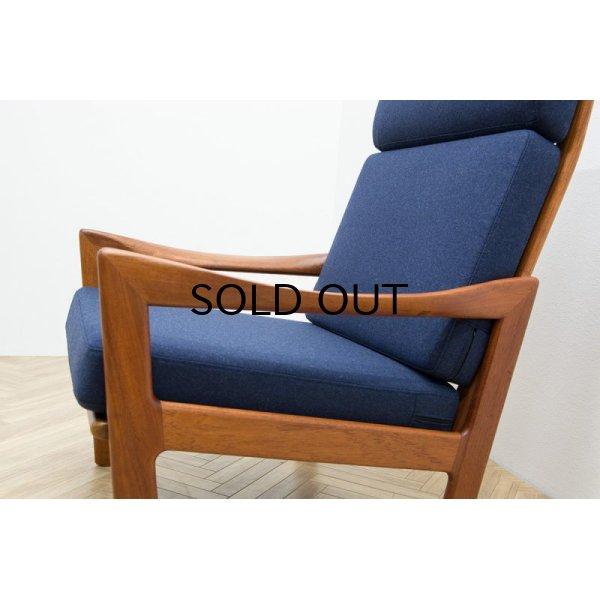 画像1: Illum Wikkelso Highback Easy Chair Model 20