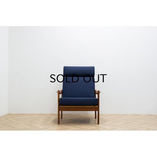 画像2: Illum Wikkelso Highback Easy Chair Model 20