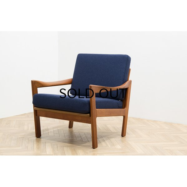 画像1: Illum Wikkelso Easy Chair Model 20