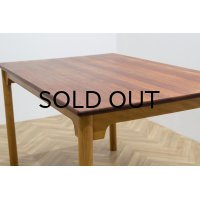 Munch Mobler Solid Teak Dining Table
