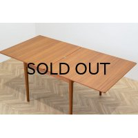 Teak Flip Top Dining Table (Sweden) Nils Jonsson
