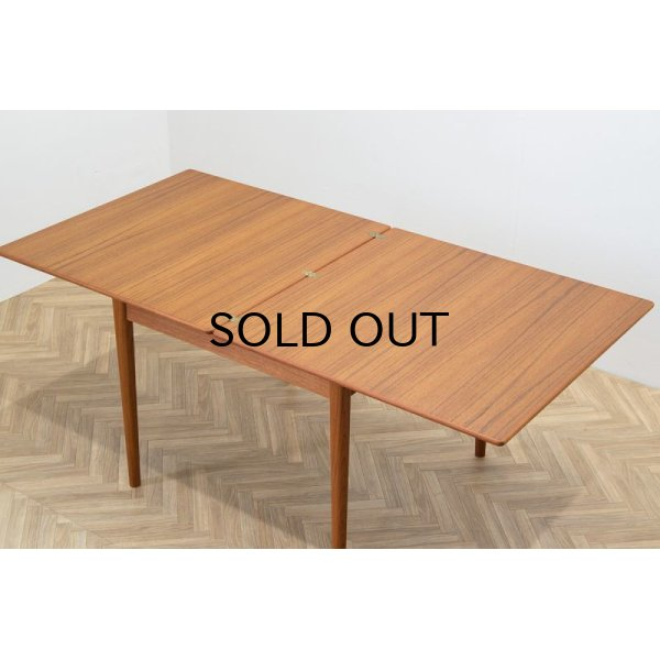 画像1: Teak Flip Top Dining Table (Sweden) Nils Jonsson