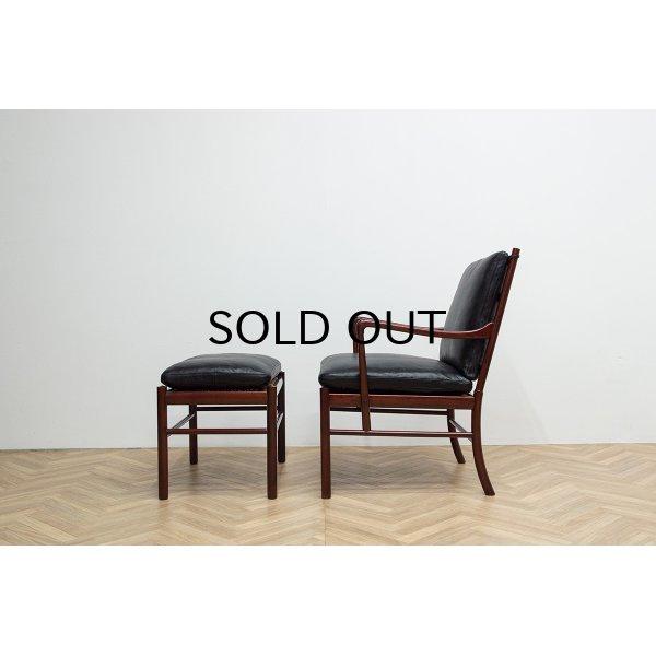 画像2: Ole Wanscher PJ149 Colonial Chair & Ottoman