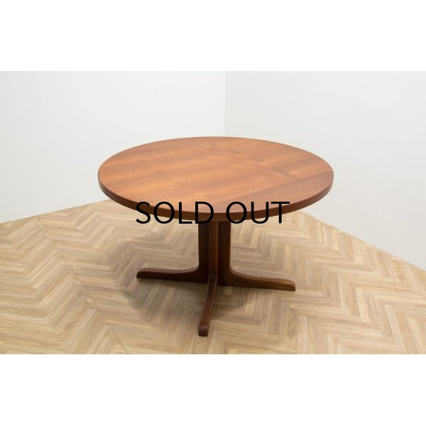 画像1: Teak Round Dining Table