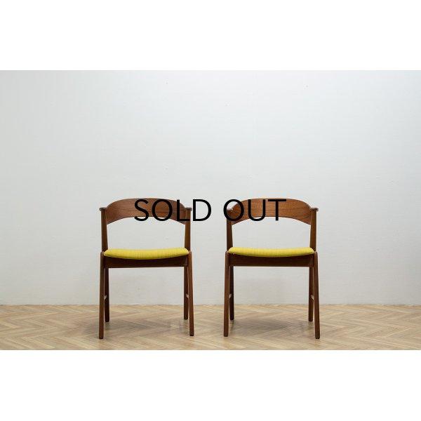 画像2: Kai Kristiansen Model 32 Dining Chair 2脚セット販売
