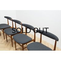 Teak Dining Chair 4脚セット販売