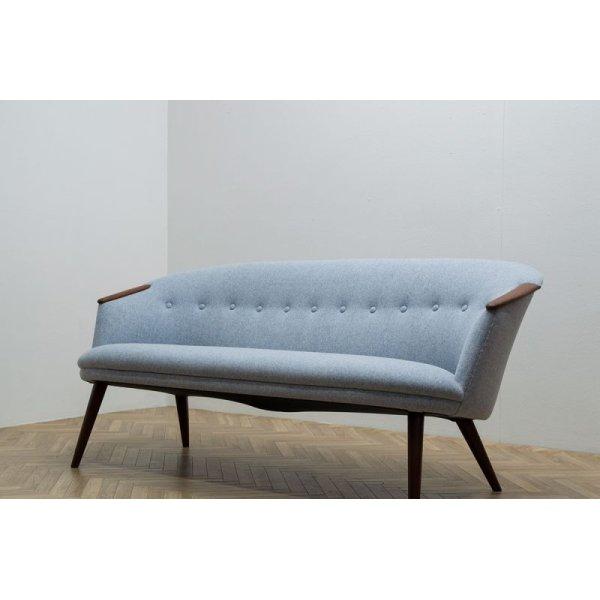 画像1: 2P Sofa Teak Arm
