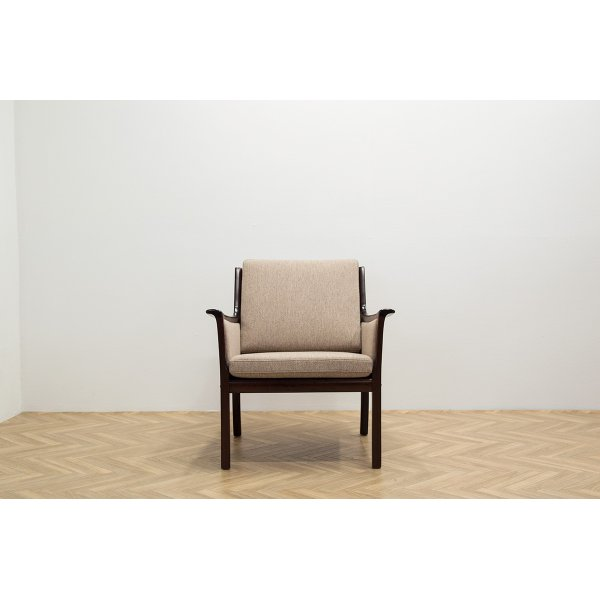 画像1: Ole Wanscher PJ Easy Chair Mahogany