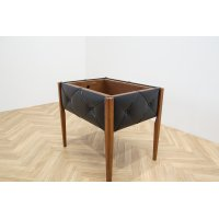 Teak , Synthetic Leather Planter