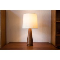 Solid Teak Table Lamp