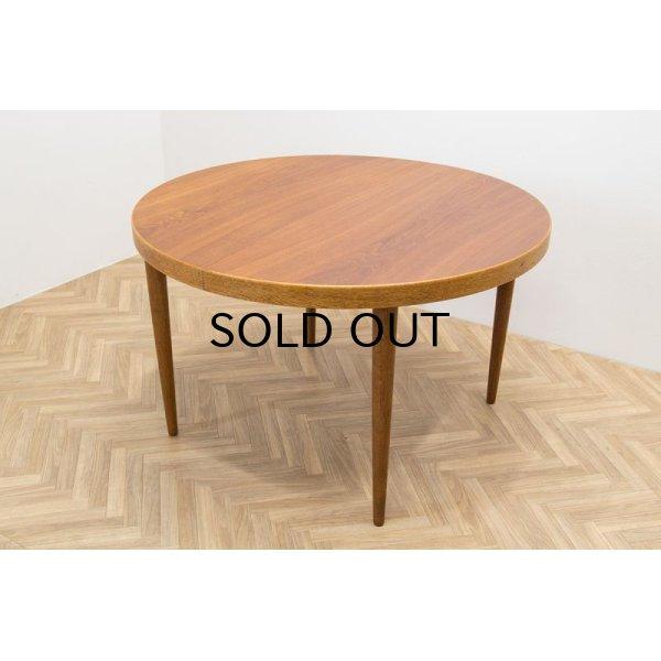 画像1: Kai Kristiansen Round Dining Table Oak