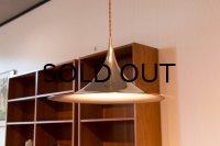 Semi Pendant Lamp Gold