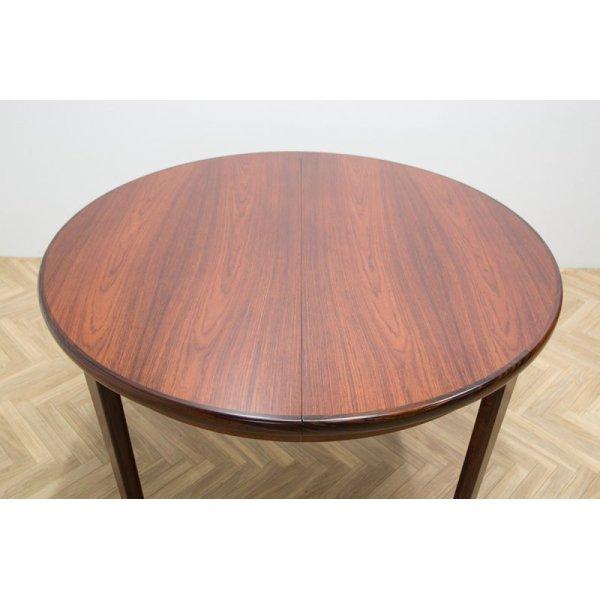 画像1: Skovby Rosewood Round Dining Table